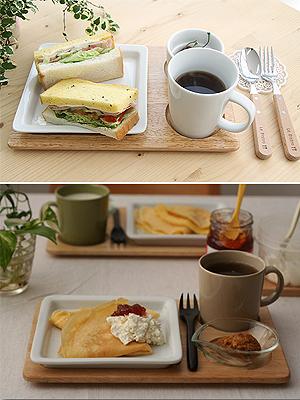 [KINTO] cafe meal 우드트레이