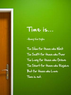 [레터링]Time is