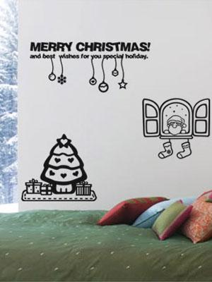 [크리스마스]창문밖싼타