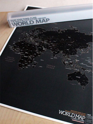 [H] WORLD MAP (ver. Black)