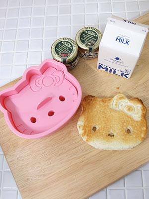 [Hello Kitty] 식빵 모양틀