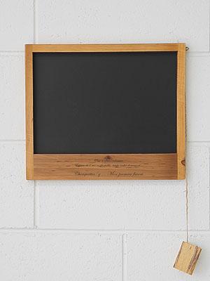 원목 벽걸이 블랙보드 (2color)