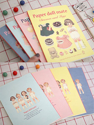 [H] Paper Doll mate Notebook
