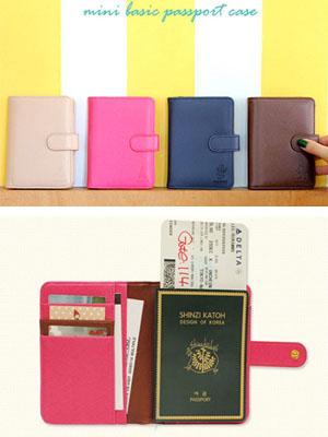 [H] 신지가토 미니 베이직 여권 케이스