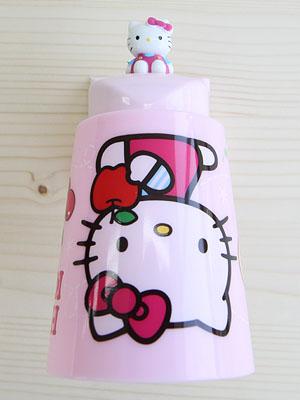 [Hello Kitty] 마그네틱 양치컵+홀더 세트 ver.2 - 핑크