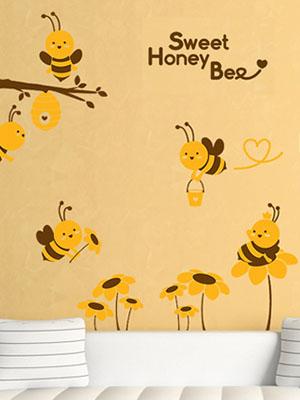 [그래픽] 꿀벌 이야기