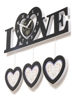 [H] LOVE Wall Clock