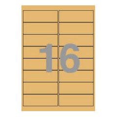 크라프트라벨지(100P)/3116