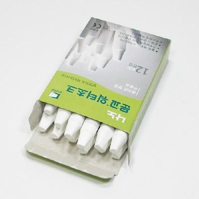 문교워터초크(흰색)/1갑/학원,유치원용품