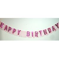 생일수술가렌드-핑크/행사,파티용품