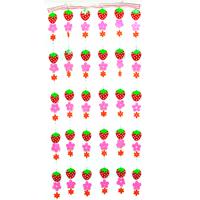 도어커튼-딸기/행사,파티용품
