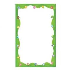 칼라빈상장(A4)연두-50매/학원,유치원용품