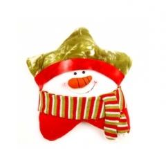 크리스마스쿠션-눈사람