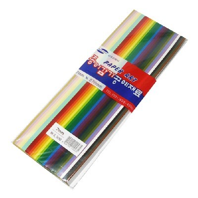 종이감기공예재료/7mm/화방,미술지류 >종이접기