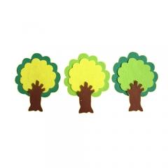 펠트 나무 D세트/환경구성재료