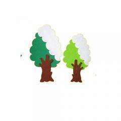 펠트 겨울나무/환경구성재료