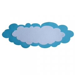 펠트 구름글짜판/환경구성재료