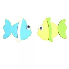 펠트 물고기1번세트/환경구성재료