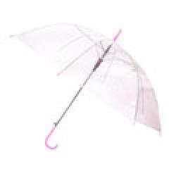 투명안전우산/분홍(53cm)