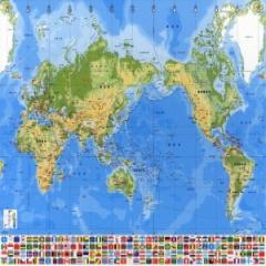 세계 지도(500p)한글판/학습교구,퍼즐 >직소퍼즐
