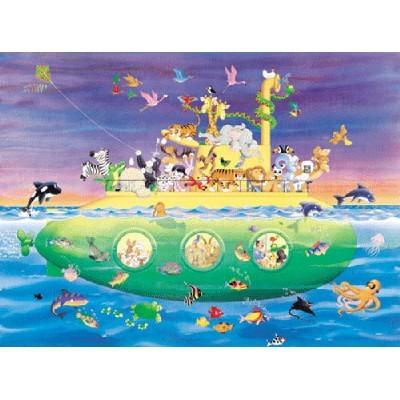 직소퍼즐(150p)/노아의 잠수함/학습교구,퍼즐 >직소퍼즐
