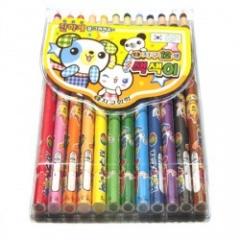 지구12색색연필(종이)/화방,미술용품 > 색연필