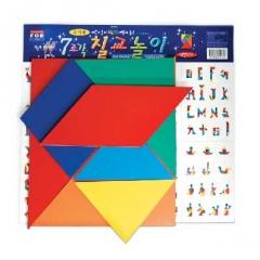자석칠교놀이(교사용)/학습교구,퍼즐>유아학습퍼즐