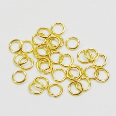 O링고리(7mm)/금색/장식공예재료