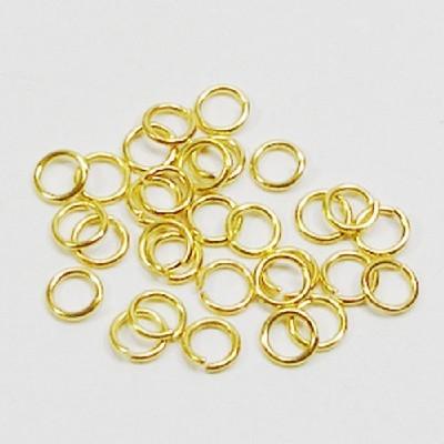 O링고리(5mm)/금색/장식공예재료