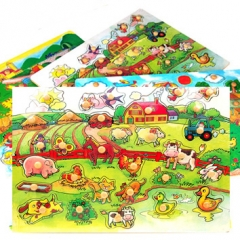 대형원목퍼즐(동물농장)/학습교구,퍼즐>유아학습퍼즐