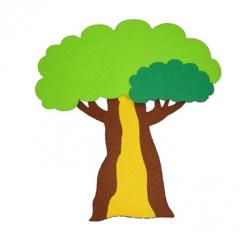 펠트-나무 E/환경구성재료