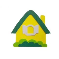 펠트 집(초록)/환경구성재료