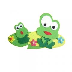 펠트 개구리 세트/환경구성재료