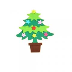 펠트-크리스마스 트리/환경구성재료
