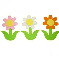 펠트-줄기꽃 G세트/환경구성재료