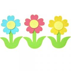 펠트-줄기꽃 B세트/환경구성재료