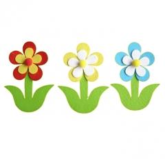 펠트-줄기꽃 A세트/환경구성재료