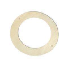 리스틀(원형15cm)10개/점토,만들기재료