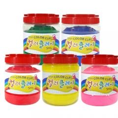 컬러클레이 /500gx12색/점토공예재료