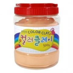 컬러클레이 /500g 살구/점토공예재료
