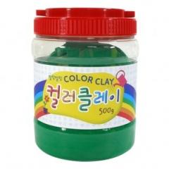 컬러클레이 /500g 초록/점토공예재료
