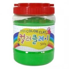 컬러클레이 /500g 연두/점토공예재료