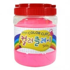 컬러클레이 /500g 분홍/점토공예재료