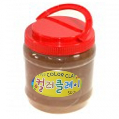 컬러클레이 /500g 갈색/점토공예재료