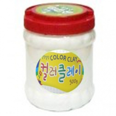 컬러클레이 /500g 흰섹/점토공예재료