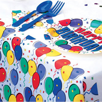 풍선 테이블보/행사,파티용품>테이블꾸미기