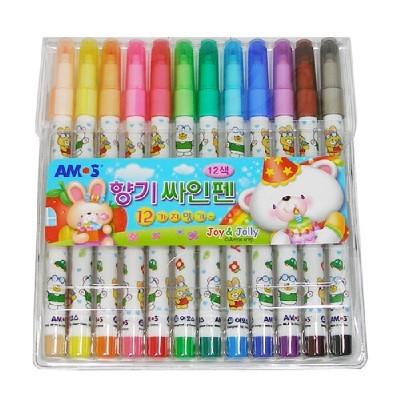 12색향기싸인펜(아모스)