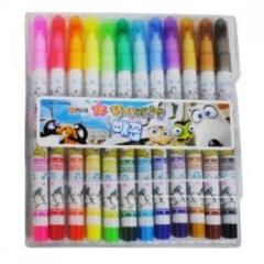 12색동아향기싸인펜