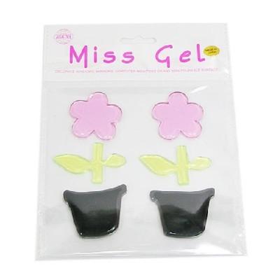 MissGel(소)/꽃화분(검+분)/환경구성,공예재료