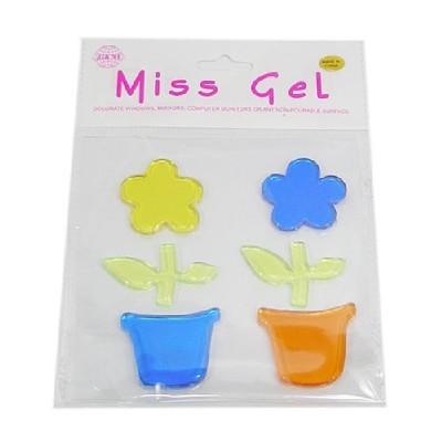 MissGel(소)/꽃화분(노+파)/환경구성,공예재료